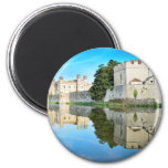 Reflections from a majestic Castle Magnets