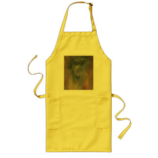 Reflections from a Radient Mirror Apron Yellow
