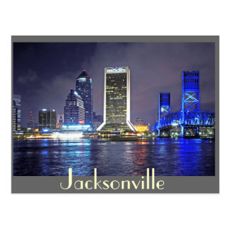 Reflections from Jacksonville, Florida Postcard