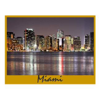 Reflections from Miami Florida the Magic City Postcards