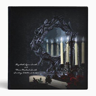 Reflections Gothic Fantasy Wedding Photo Album 3 Ring Binder