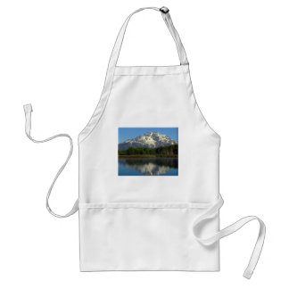 Reflections Grand Tetons Adult Apron