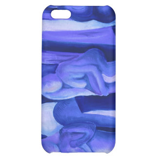Reflections in Blue II - Abstract Azure Angels Case For iPhone 5C