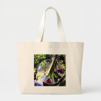 Reflections In Brass Large Tote Bag