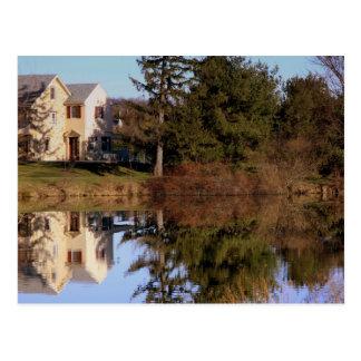 Reflections in Rhonda Post Card