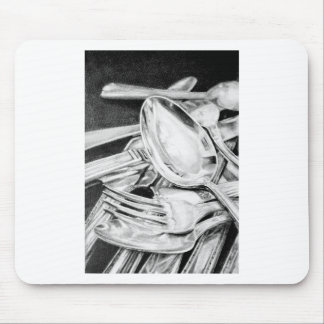 Reflections in Silver Mouse Pad