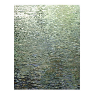 """Reflections in stream 8.5"""" x 11"""" flyer"""