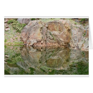 Reflections in the Colorado Rocky Mountains Greeting Card