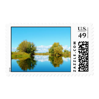 Reflections in the Lake - Stamp