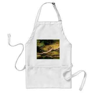 Reflections in the park adult apron