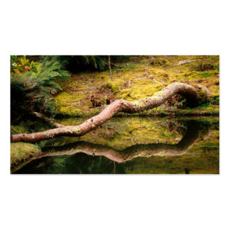 Reflections in the park - Pocket calendar Business Cards
