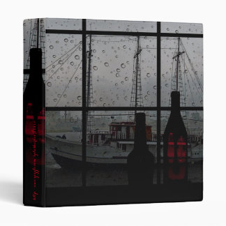 """Reflections in the Rain"" 3 Ring Binder"