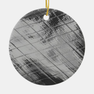 Reflections in the Rain Christmas Tree Ornaments