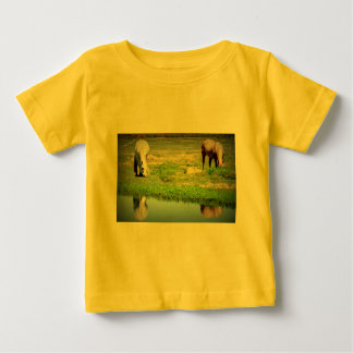 Reflections in the Water - Horses Infant T-shirt