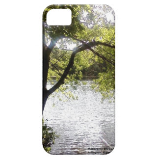 Reflections in the woods iPhone SE/5/5s case
