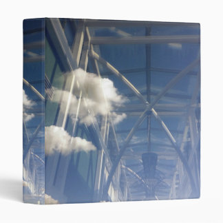 reflections in window 3 ring binder