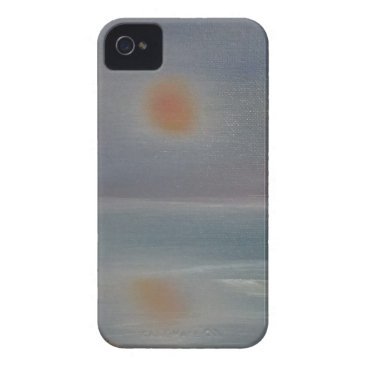 Beach Themed Reflections iPhone 4 Case-Mate Case