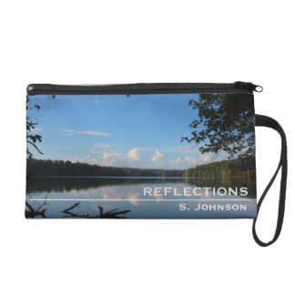 Reflections Loch Raven Reservoir Personalized Wristlet