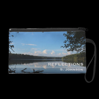 Reflections Loch Raven Reservoir Personalized Wristlet
