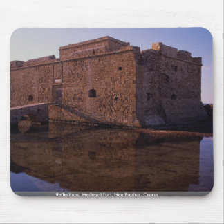 Reflections, Medieval Fort, Nea Paphos, Cyprus Mouse Pad