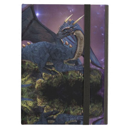 Reflections of a Dragon Pool iPad Folio Cases
