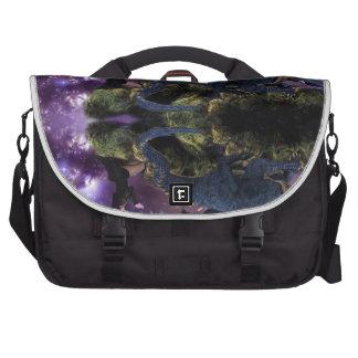 Reflections of a Dragon Pool Laptop Messenger Bag