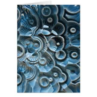 Reflections of A Fractal Fossil Card