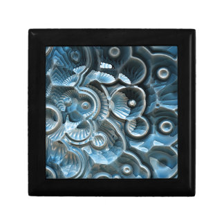 Reflections of A Fractal Fossil Jewelry Box