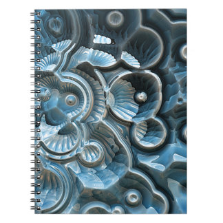 Reflections of A Fractal Fossil Notebook