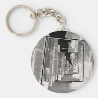 Reflections of An Infrared Alley Keychain