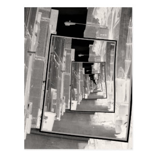 Reflections of An Infrared Alley Postcard