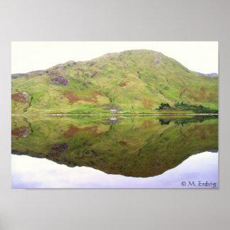 Reflections of Connemara Ireland Posters