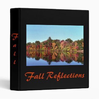 Reflections of Fall Binder