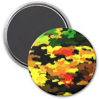 Reflections of Fall Camo Magnet