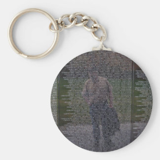 Reflections of Fallen Brothers Keychain