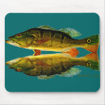 Reflections of Fish Mouse Mat