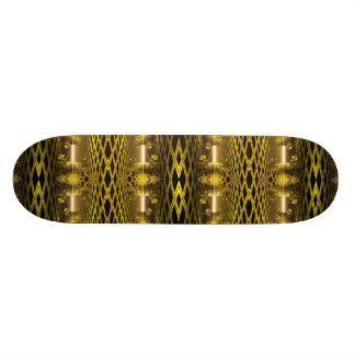 Reflections of Gold Skateboard Deck