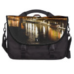 Reflections of good times collection laptop messenger bag