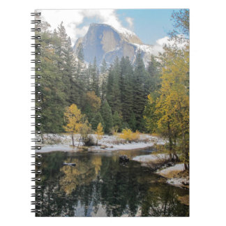 Reflections Of Half Dome Notebook