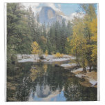 Reflections of Half Dome, Yosemite National Park Napkin