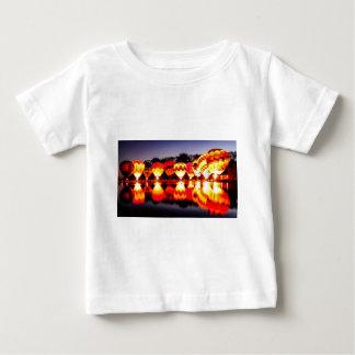 Reflections of Hot Air Balloons Baby T-Shirt