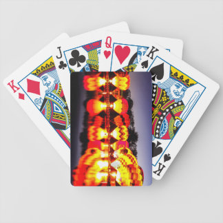 Reflections of Hot Air Balloons Bicycle Playing Cards