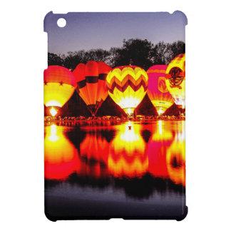 Reflections of Hot Air Balloons iPad Mini Covers