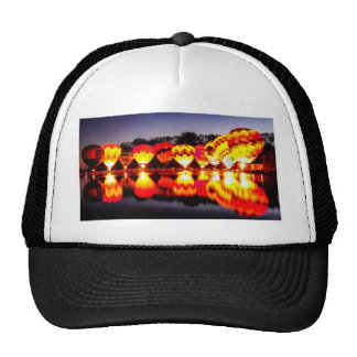 Reflections of Hot Air Balloons Trucker Hat