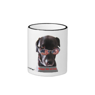 Reflections of Independence Ringer Coffee Mug
