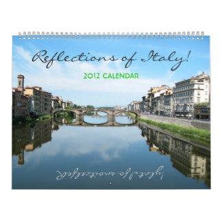 Reflections of Italy Jumbo Calendar