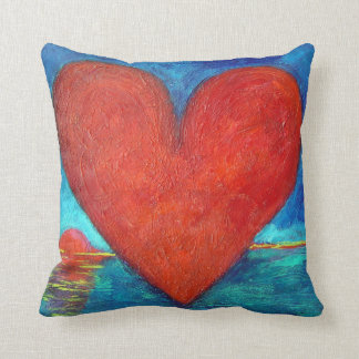 """Reflections of Love"" Throw Pillow 20"" x 20"""