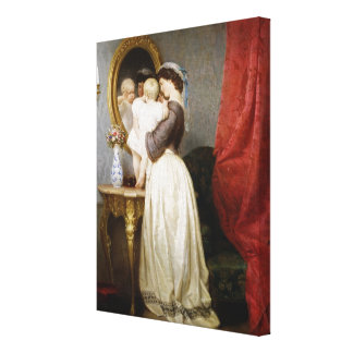 Reflections of Maternal Love Canvas Print