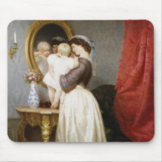 Reflections of Maternal Love Mouse Pad