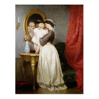Reflections of Maternal Love Postcard